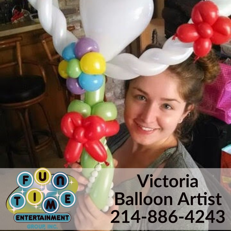 Balloon twisting dallas, birthday balloons, balloon artist, professional balloon twister, balloon twister plano, balloon art frisco, texas, Dallas, Texas party ideas, DFW balloon twisting