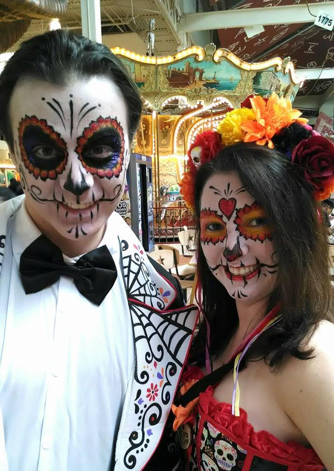 face painting, sugar skull face paint, sugar skull makeup, face painter dallas, dfw face painter, dallas makeup, halloween makeup dallas, professional face painter