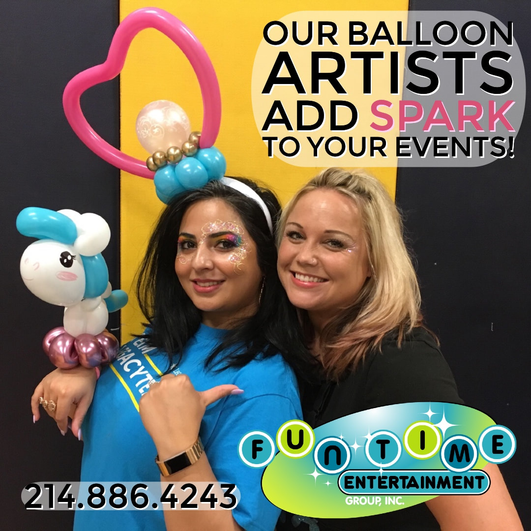 Balloon twisting Dallas, Dallas Balloon artist, party balloons Dallas, Dallas balloon twister, plano balloon twisting, plano balloon artist