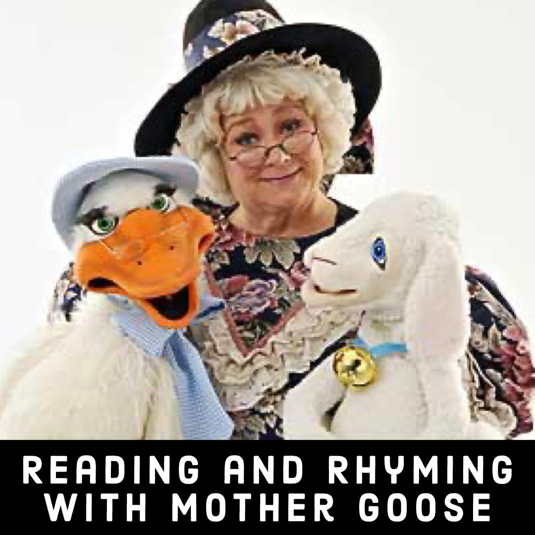 Mother Goose Show, Virtual Mother Goose Show, Online Daycare Show, Online party, Virtual birthday show, Dallas Birthday Show, Virtual Shows USA