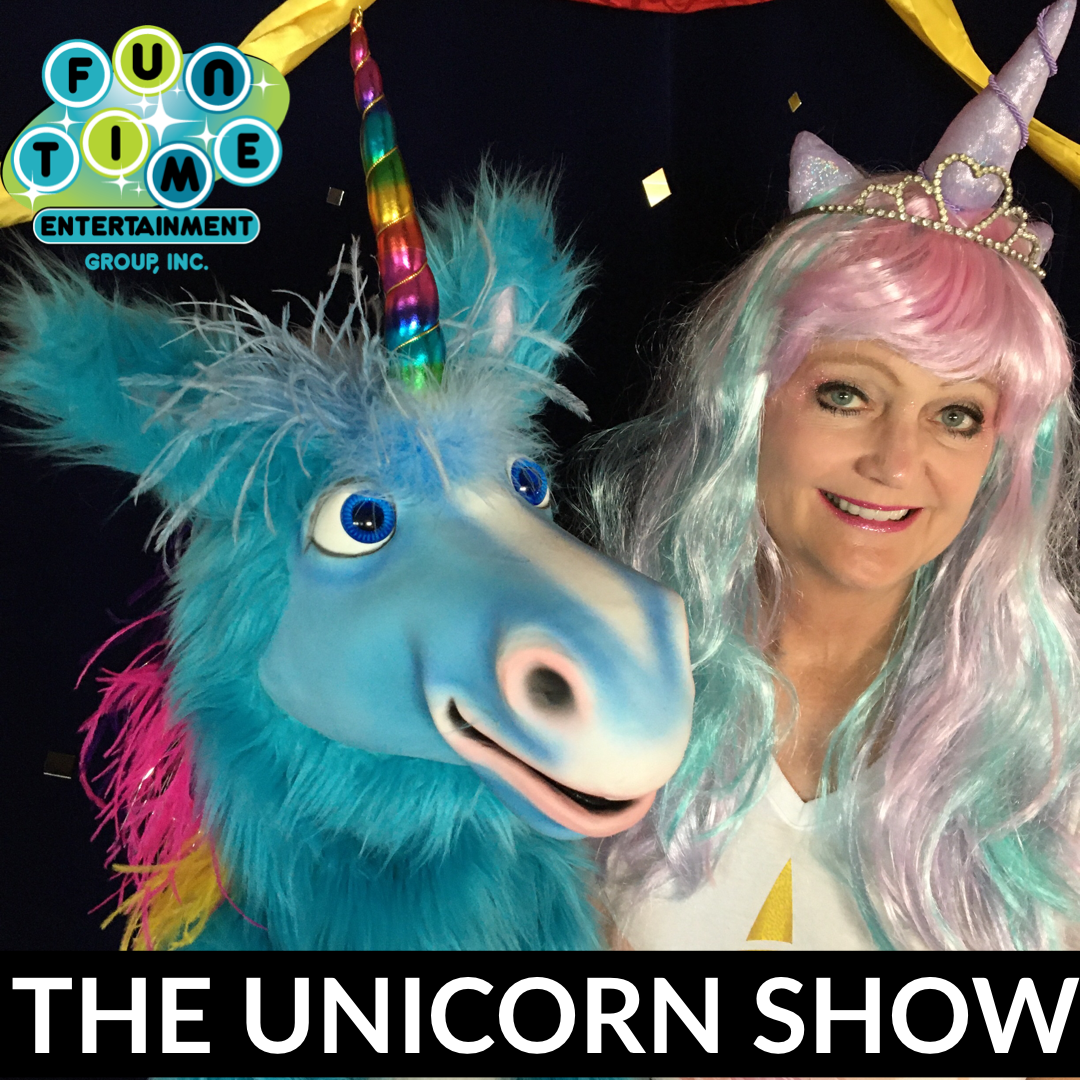 Virtual birthday show, unicorn show, virtual birthday, birthday ideas for girls, zoom birthday, online birthday party