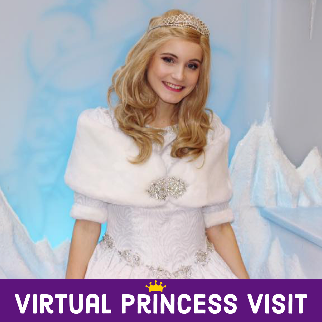 Virtual birthday for girls, virtual princess visit, online princess visit, virtual birthday, dallas princess party, virtual birthday party